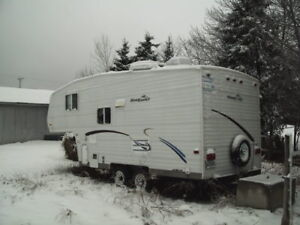 roulotte fifth wheel road runner