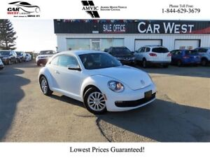 2016 Volkswagen THE BEETLE 1.8T | HATCHBACK | HEATED SEATS | BAC