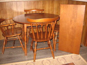 Vilas table and 4 chairs