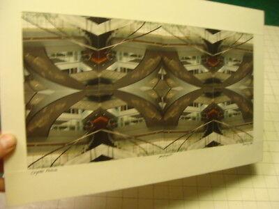 Original BEATRIZ GRAYSON Art: Photo Quilt -  CRYSTAL PALACE signed 1988