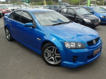 2008 Holden Commodore VE MY09 SV6 Blue 5 Speed Automatic Sedan