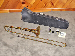 Student Trombone - CONN Director w/case and new mouthpiece