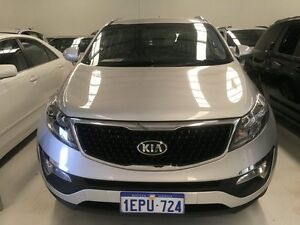 2014 Kia Sportage SL Series 2 MY14 SI Premium (FWD) Machine Silver 6 Speed Automatic Wagon Welshpool Canning Area Preview