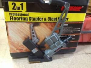 Hardwood flooring floor nailer stapler NEW