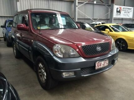 2004 Hyundai Terracan 05 Upgrade Red 4 Speed Automatic Wagon Macquarie Hills Lake Macquarie Area Preview