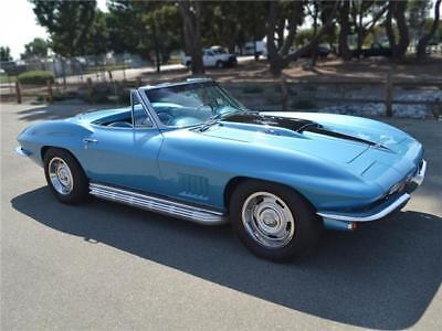1967 Marina Blue L68 Convertible