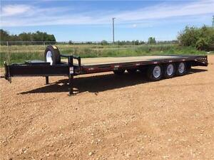 2017 24FT Triple Axle Low Pro Deckover (21000 GVW) Double A