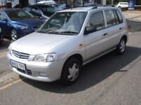 Mazda DEMIO 1.3 LXi 5dr, 2002 model, 63K, Long MOT, Cheap runabout