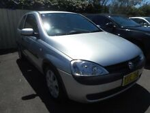 2003 Holden Barina XC SXI Silver 5 Speed Manual Hatchback Edgeworth Lake Macquarie Area Preview