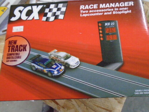 SCX Race Manager Lap Counter new in box sealeD