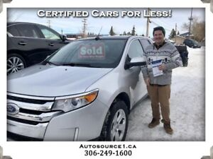 2013 Ford Edge SEL AWD | PANORAMIC ROOF | LEATHER SEATS | NO FEE
