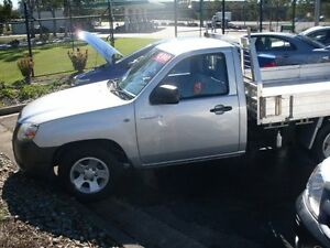 2007 Mazda BT-50 UNY0E3 DX+ Freestyle White 5 Speed Manual Trayback Waterford Logan Area Preview