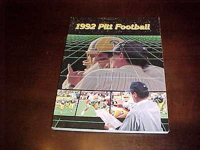 1992 Pitt Panthers Football Media Guide