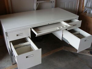 Solid Steel Desk...made in Canada