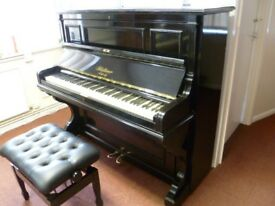 Upright Piano Bluthner (Free Local Delivery within 10 Miles TN12) Just been Tuned