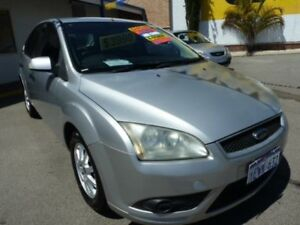 2008 Ford Focus LT LX Silver 4 Speed Automatic Hatchback