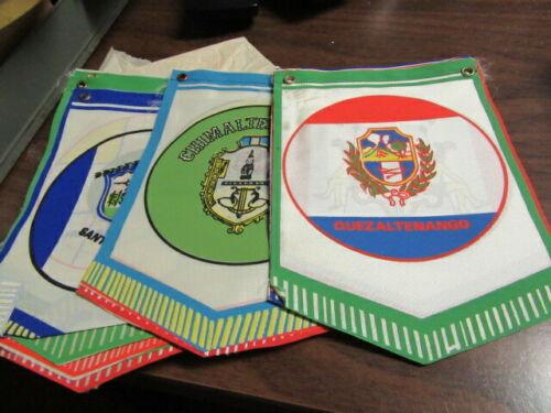 Guatemala Boy Scout Pennants 14 different Vintage   eb27