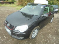 Volkswagen Polo 1.4 S 80PS. CAT D INSURANCE WRITE OFF (black) 2006