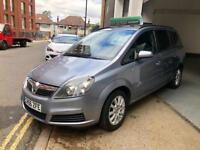 Vauxhall Zafira 1.6 Club Petrol 5Dr Drives Lovely 7 Seaters