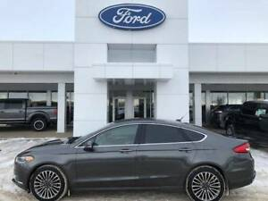 2018 Ford Fusion SE AWD LEATHER NAV 29000KM