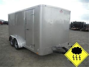 HAIL SALE ON NOW!! 7 X 14 CARGO *RAMP* ONLY $5,390 *TAX IN*