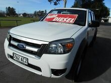 2009 Ford Ranger PK XL HI-Rider (4x2) White 5 Speed Automatic Dual Cab Pick-up Nailsworth Prospect Area Preview