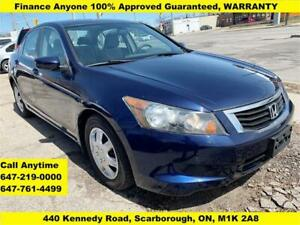 2008 Honda Accord Sdn LX FINANCE 3-YEARS WARRANTY