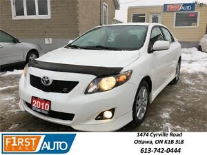 2010 Toyota Corolla S - NO ACCIDENTS! - Amazing On Gas!