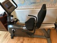 Vision recumbent exercise bike