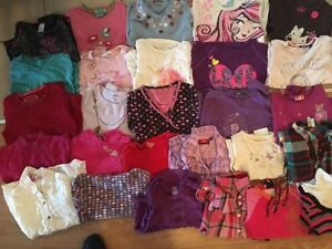 A big lot of fall/winter girl's clothes size 6 and 7. AVAILABLE