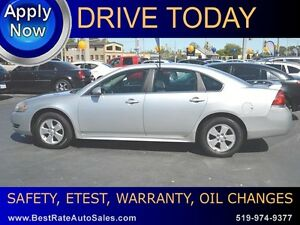 2011 Chevrolet Impala LT can be YOURS for $39/week
