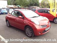 2006 (56 Reg) Nissan Micra 1.6 C+C SPORT 2DR Convertible RED