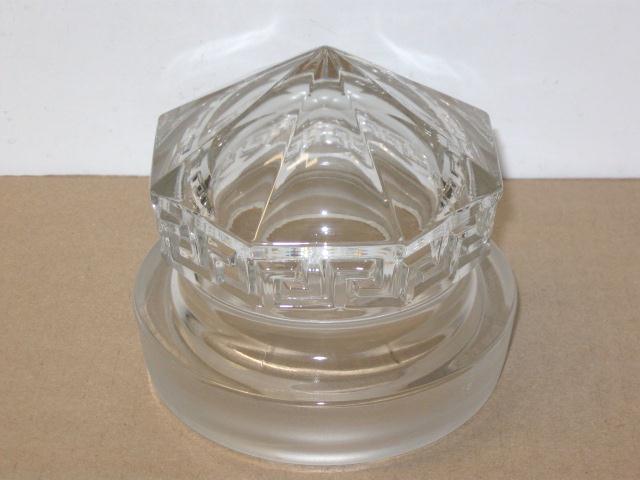 F & J HEINZ CO. GLASS LID FOR DISPLAY JAR  ---  RARE