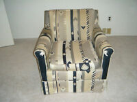 STYLISH CHAIR ARIZONA COLORS RE-UPHOLSTERED smooth material