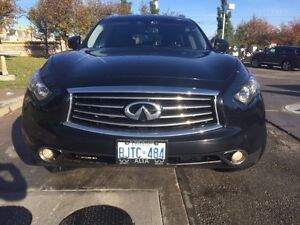 2012 Infiniti FX50S  black SUV, Crossover SPORT PACKEGE