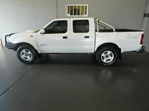 2014 Nissan Navara D22 Series 5 ST-R (4x4) White 5 Speed Manual Dual Cab Pick-up Woodridge Logan Area Preview