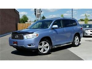 2008 Toyota Highlander V6 LIMITED-7 PASSENGER-NAVIGATION-REAR CA