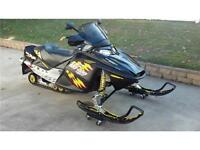 2008 Skidoo mxz... BAD CREDIT FINANCING AVAILABLE !!!!
