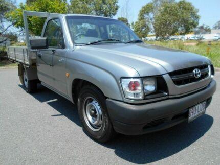 2001 Toyota Hilux RZN149R MY02 Grey 5 Speed Manual Utility