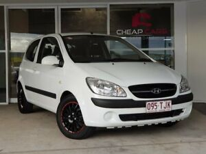 2010 Hyundai Getz TB MY09 S White 5 Speed Manual Hatchback Brendale Pine Rivers Area Preview
