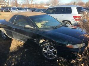 1999 Chrysler Sebring JXi RUNS AND DRIVES AS-IS  READ COMMENTS