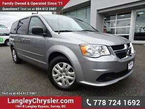 2016 Dodge Grand Caravan SE/SXT ACCIDENT FREE w/ POWER WINDOW...