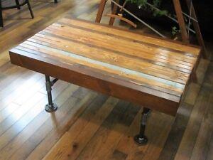 Exceptionnel Table de Salon Rectangulaire Style Industriel