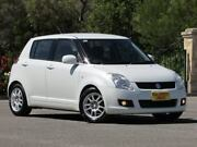 2009 Suzuki Swift RS415 S White 4 Speed Automatic Hatchback Blair Athol Port Adelaide Area Preview