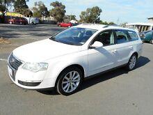 2010 Volkswagen Passat 3C MY10 147 TSI White 6 Speed Tiptronic Wagon Maidstone Maribyrnong Area Preview