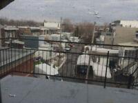 rosemont rdc 7 1/2 cour s-sol stat.5 chambres à coucher,metro