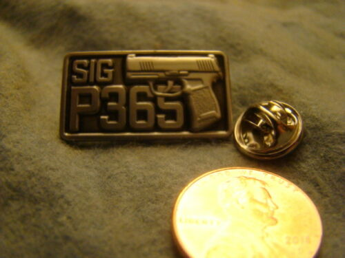 Sig Sauer Model P365 Hat Lapel Pin