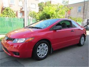 2008 HONDA CIVIC CPE DX/ FINANCEMENT MAISON $45 SEMAINE ACCORD