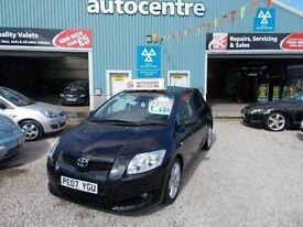TOYOTA AURIS 2.2 T180 D-CAT 5d 175 BHP 12month mot and a 6 mont (black) 2007
