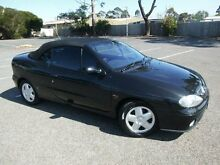 2002 Renault Megane Expression Black 4 Speed Automatic Cabriolet Maidstone Maribyrnong Area Preview